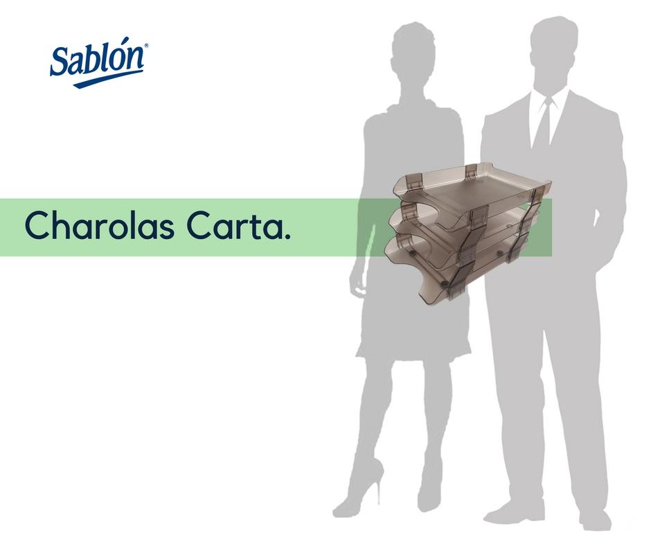 Sablón - Charolas tamaño carta