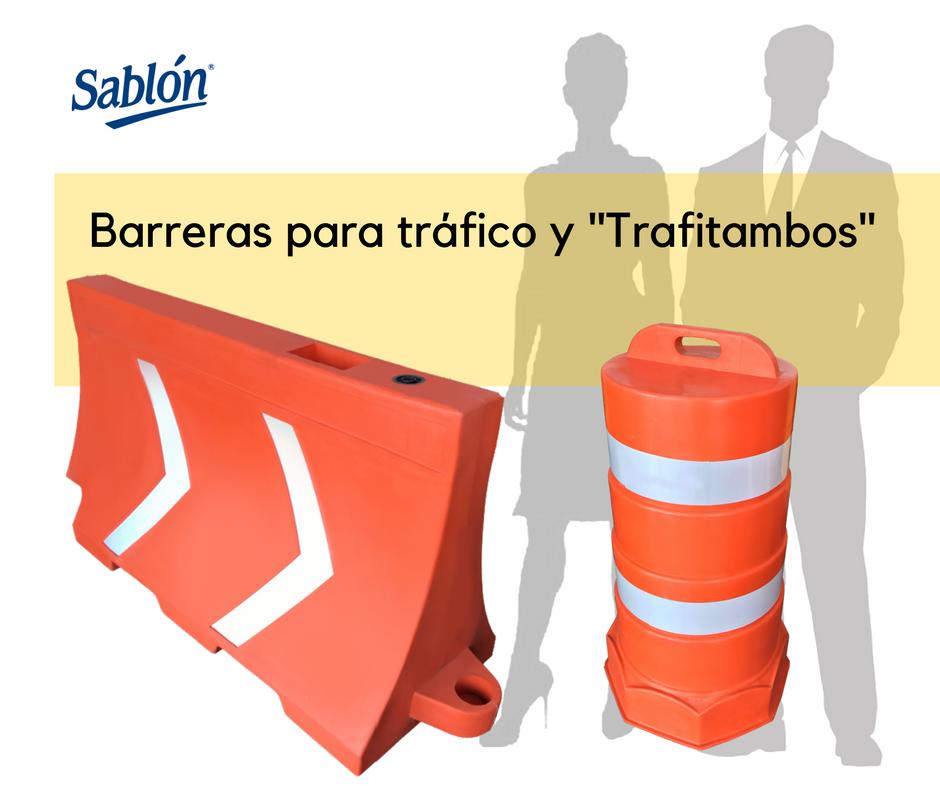 Barreras para Tráfico y Trafitambos Sablón