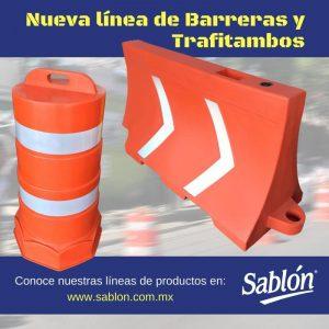 Estrenamos nueva línea de Barreras para Tráfico y Trafitambos de Sablón