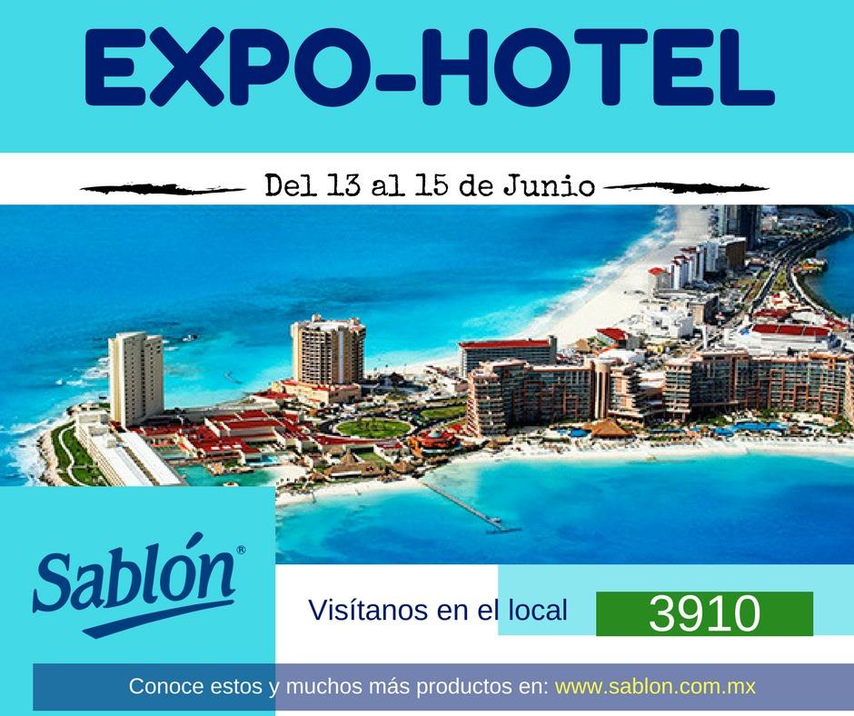 Sabón presente en Expo Hotel Cancún 2017