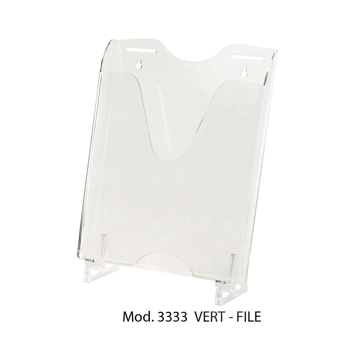 verti file cristal organizacion de documentos mod 3333
