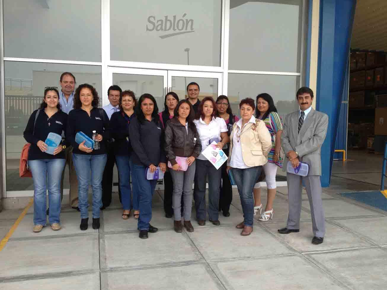 Visita de Papelera Principado a Sablon