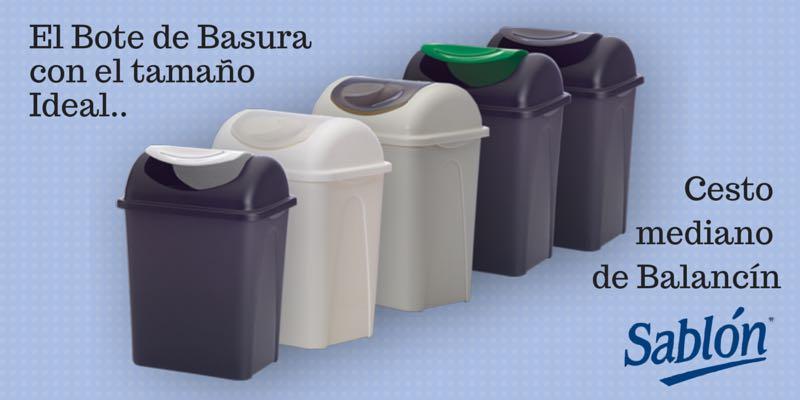 Bote de basura para casi cualquier rinc n for Objetivo de bano de basura