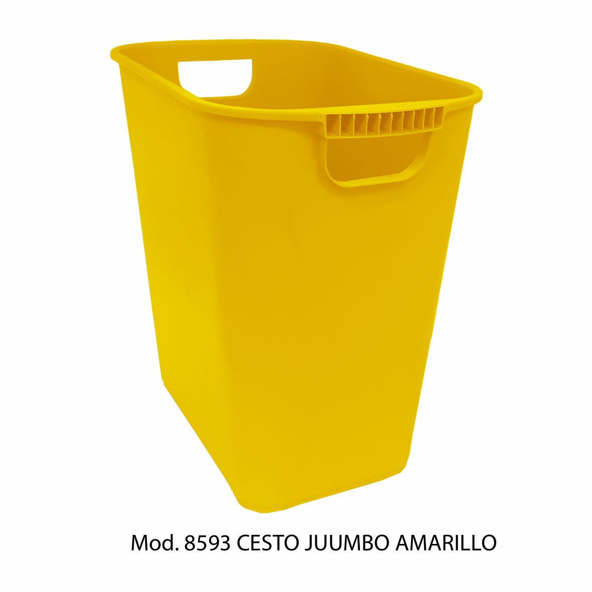 Bote de basura jumbo color naranja modelo 8593 - Sablón