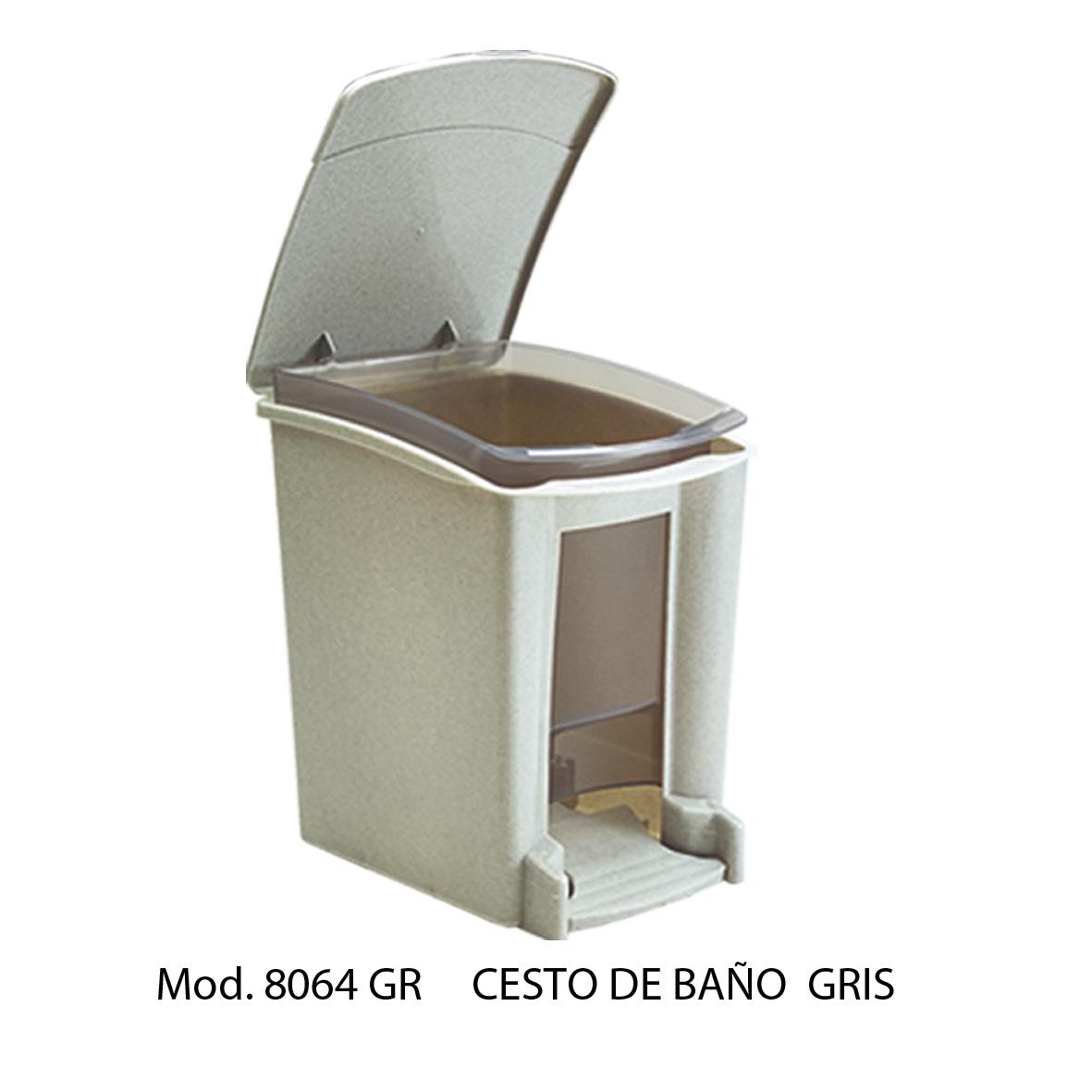 Botes de basura para ba o con pedal sabl n for Objetivo de bano de basura