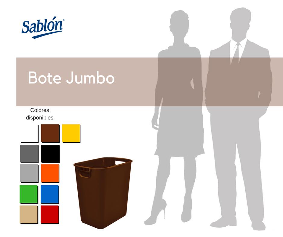 Botes de basura jumbo - Sablón