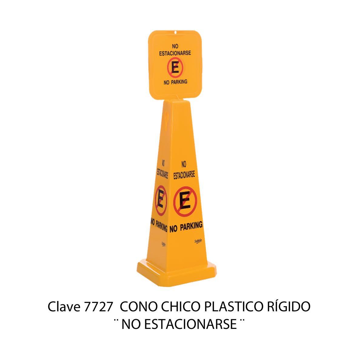 Cono de No Estacionarse Modelo 7727 - Sablón
