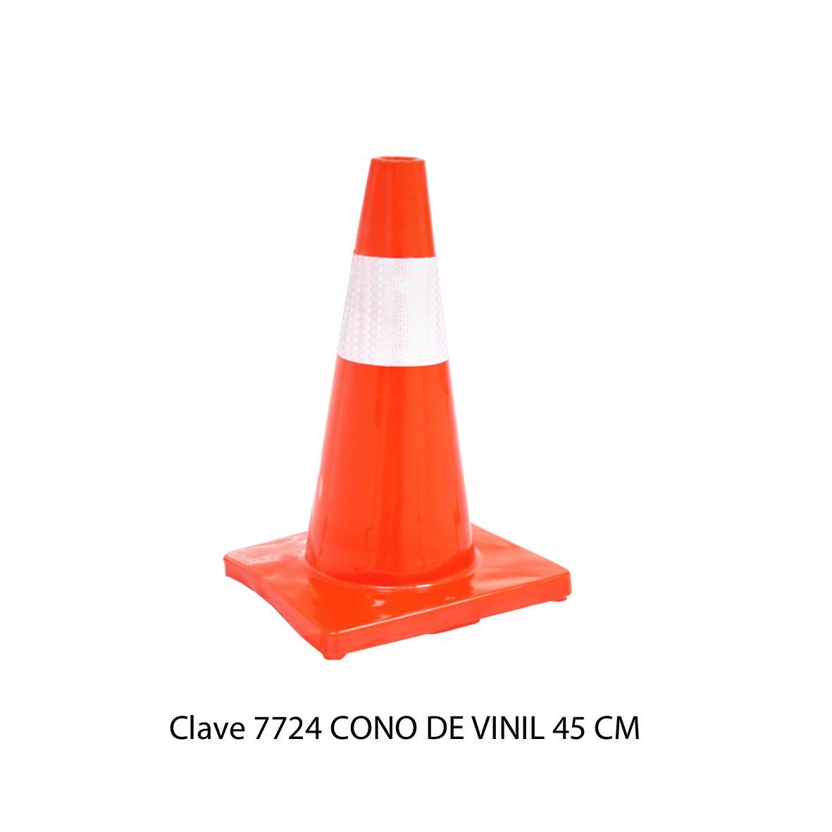 Cono de Vinil de 45 cm Modelo 7724 - Sablón