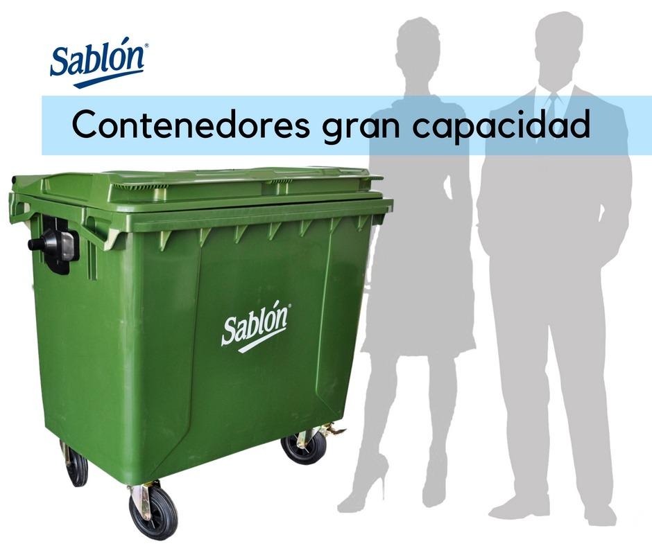 Contenedores de basura de gran capacidad Sablón