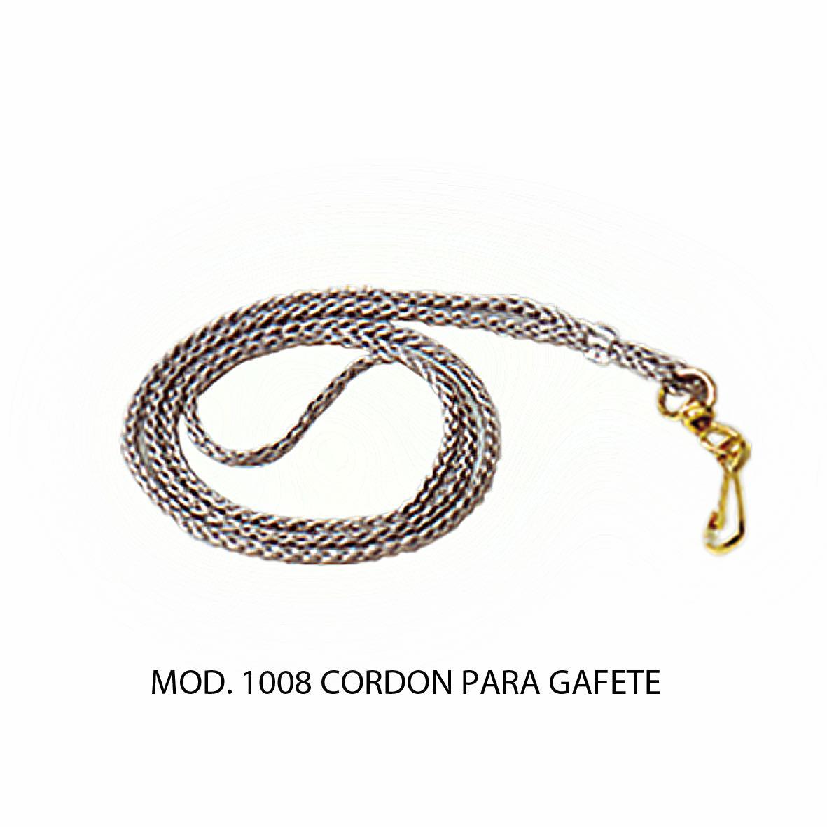 Cordon para Gafete Modelo 1008 - Sablón