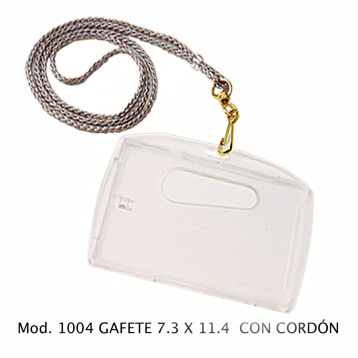 Gafete con cordón grande Modelo 1004 - Sablón