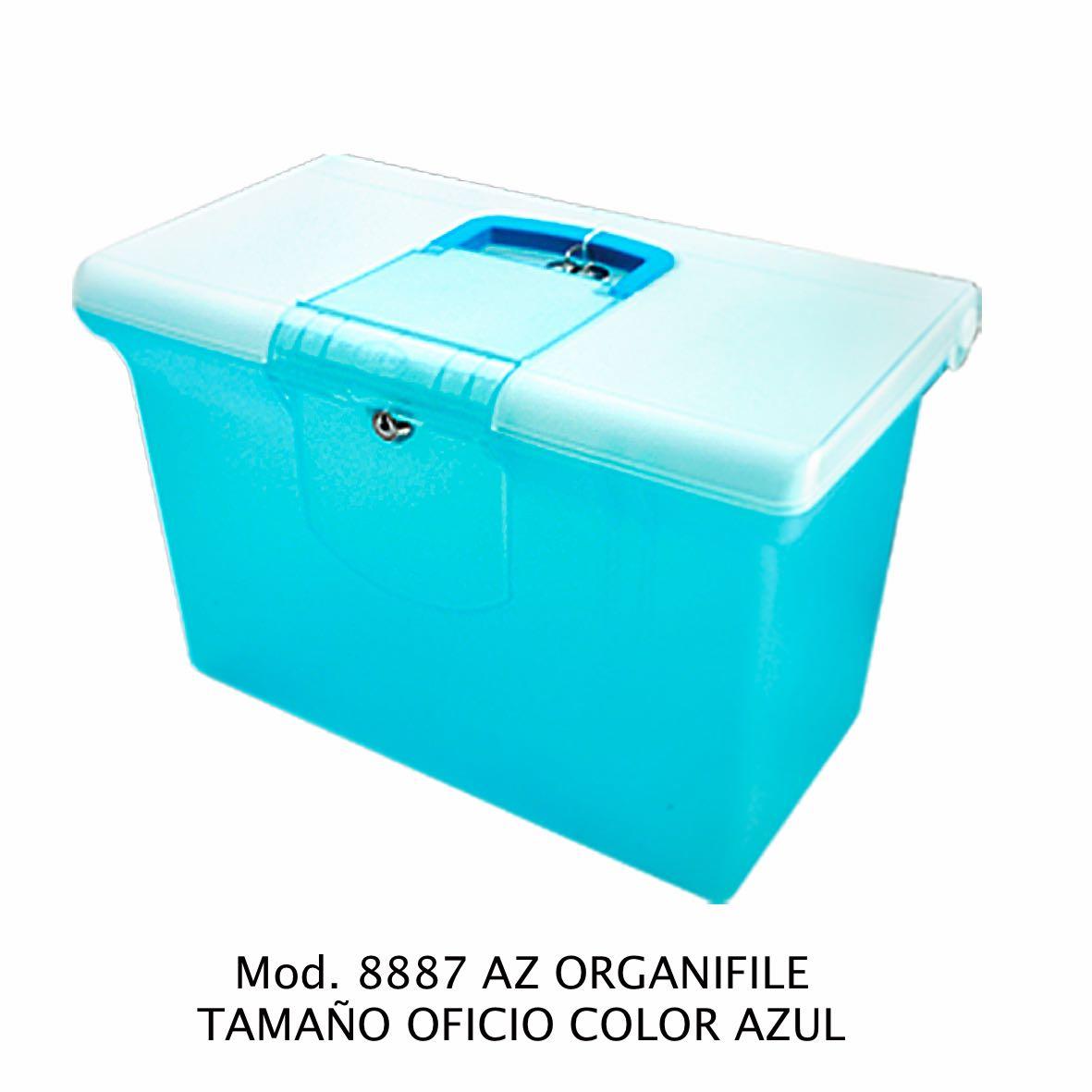 Organifile tamaño oficio de color azul Modelo 8887 AZ - Sablón