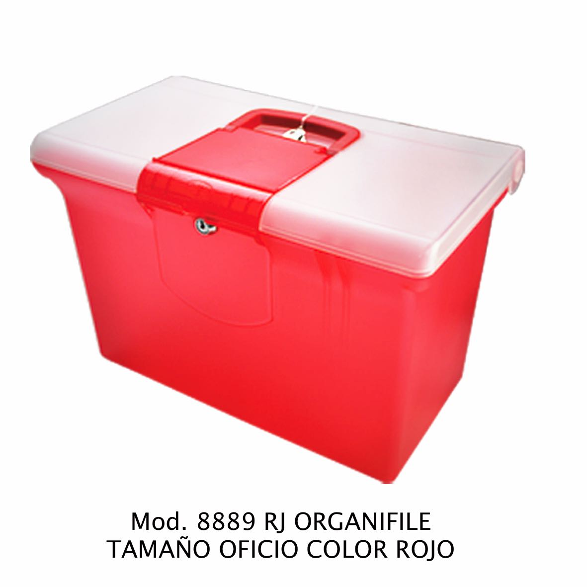 Organifile tamaño oficio de color rojo Modelo 8889 RJ - Sablón