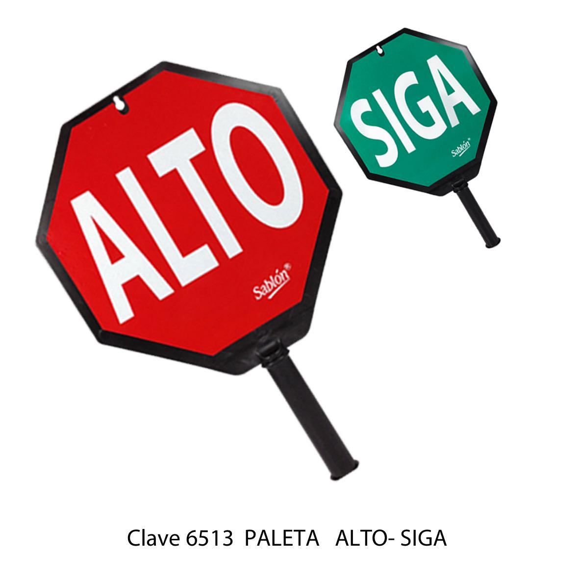 Paleta Alto - Siga Modelo 6513 - Sablón