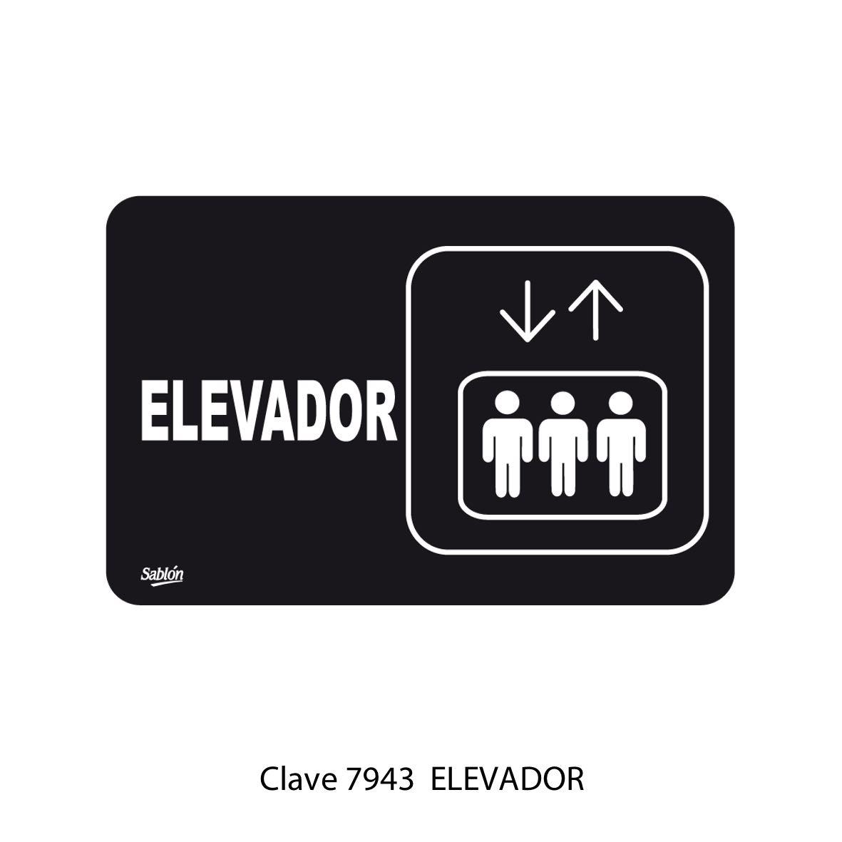Señal Elevador Modelo 7943 - Sablón