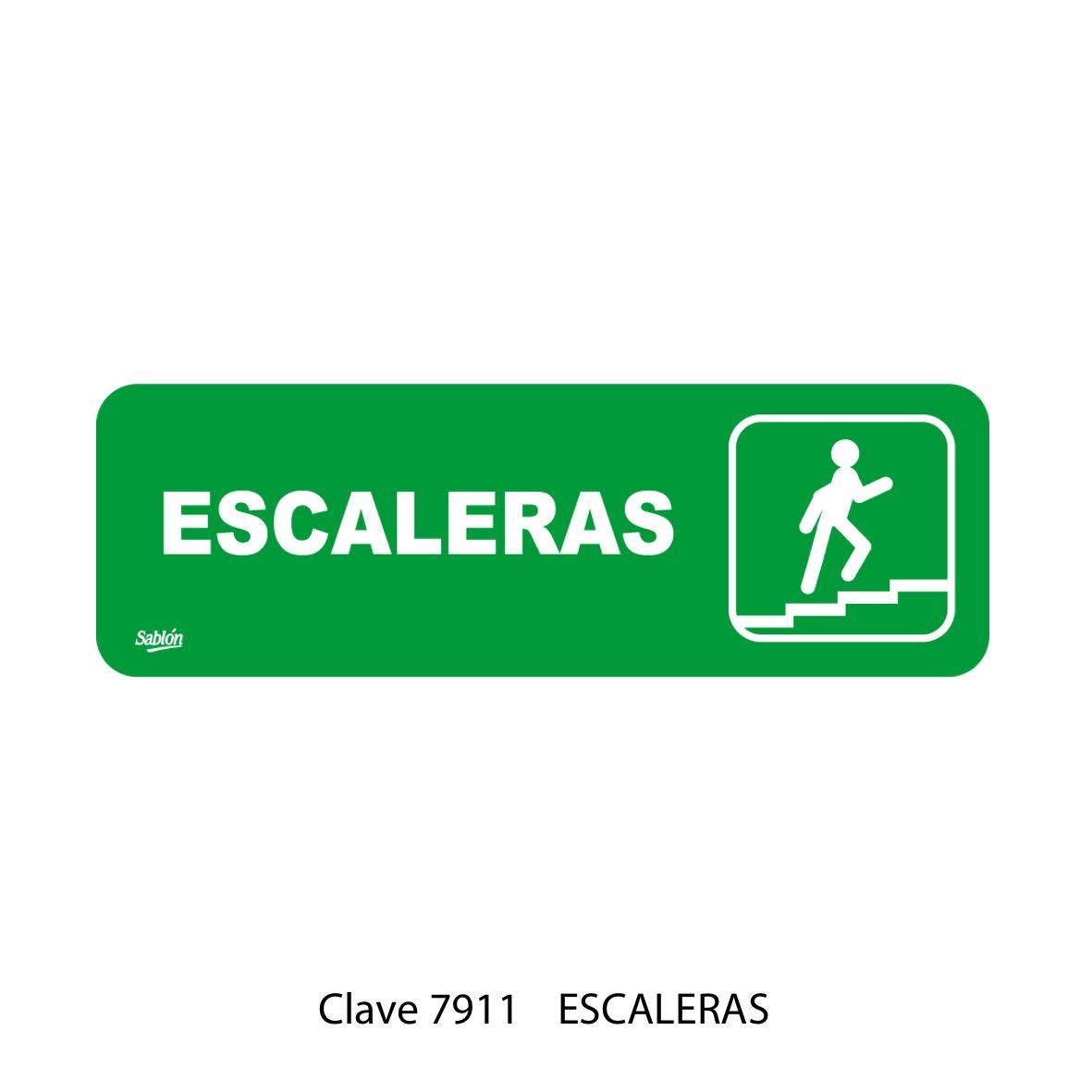 Señal Escaleras Modelo 7911 - Sablón