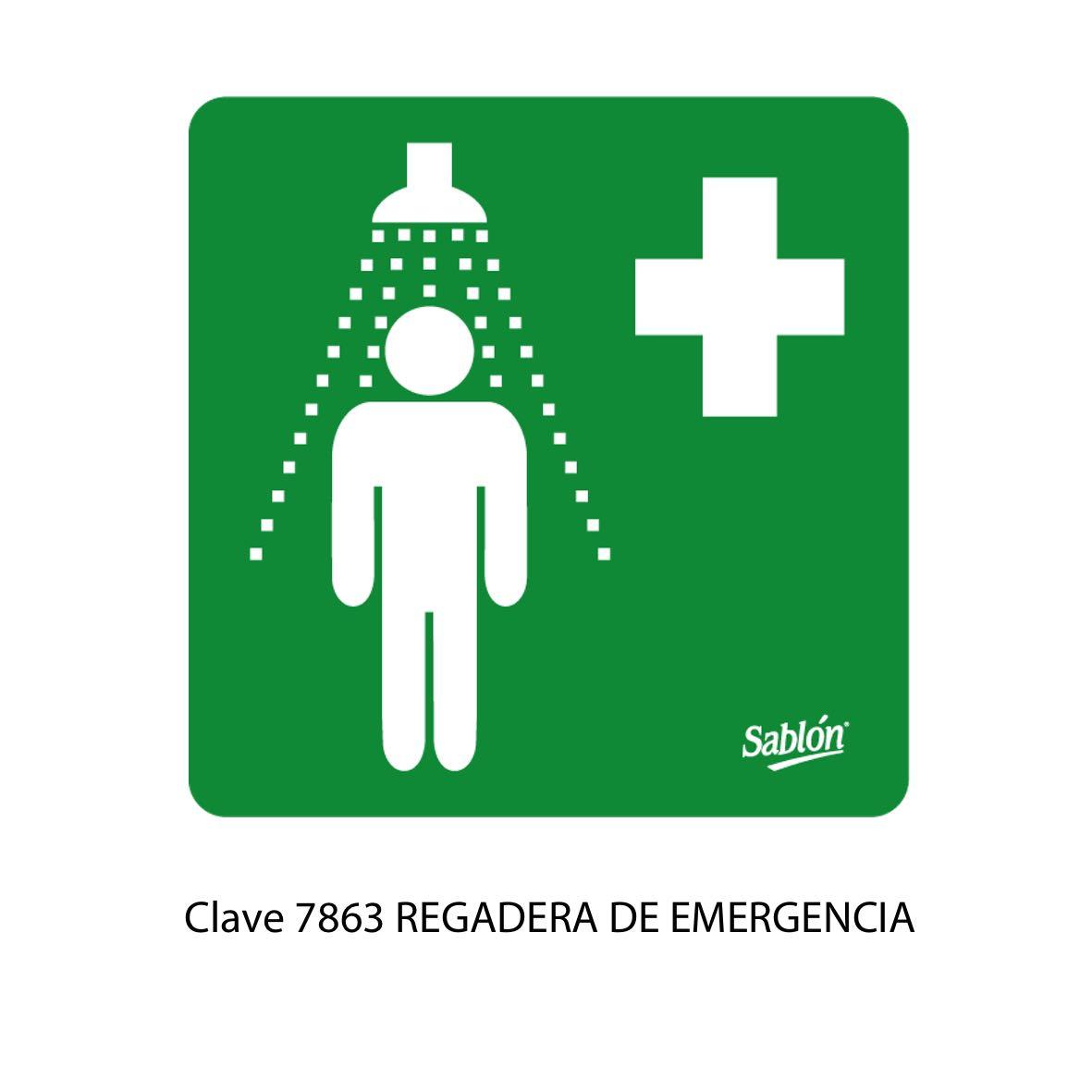 Señal Regadera de Emergencia Modelo 7863 - Sablón