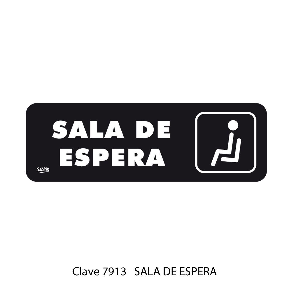 Señal Sala de Espera Modelo 7913 - Sablón