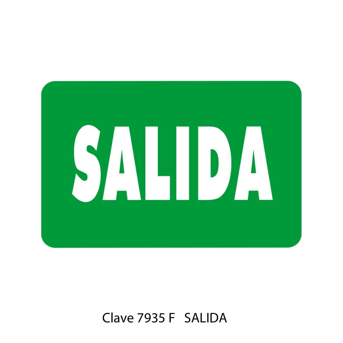 Señal Salida Modelo 7935 F - Sablón