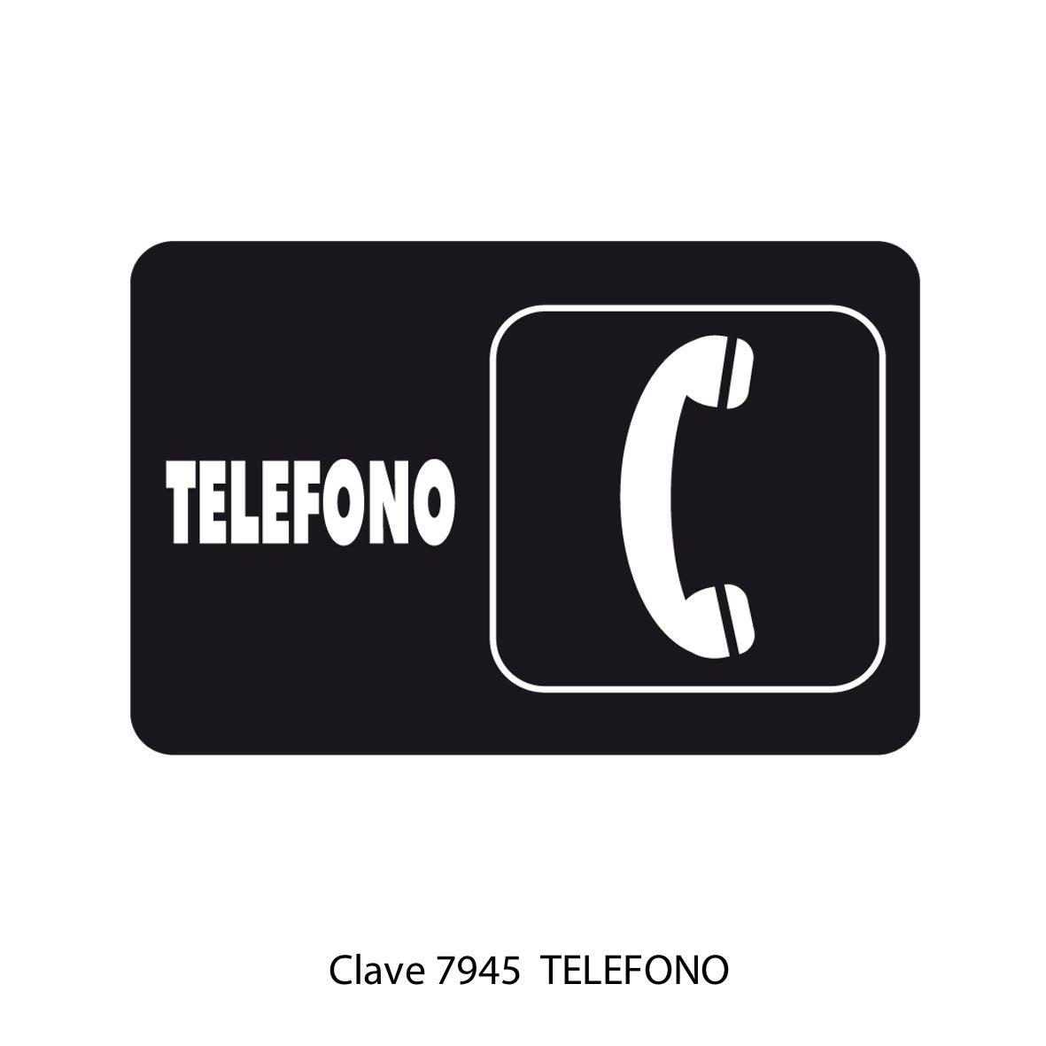 Señal Teléfono Modelo 7945 - Sablón