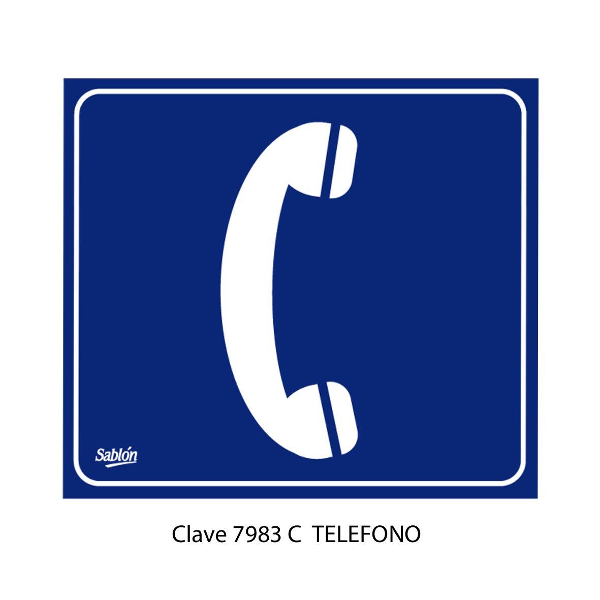 Señal Teléfono Modelo 7983 C - Sablón