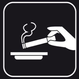 Señal icono Fumar - Sablón