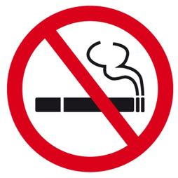 Señal icono no fumar - Sablón