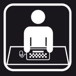 Señal icono oficina - Sablón