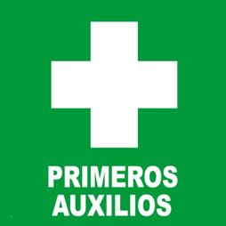 Señal icono primeros auxilios - Sablón