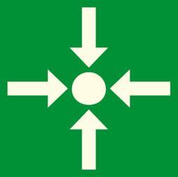 Señal icono punto de reunión - Sablón