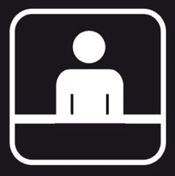Señal icono recepción - Sablón