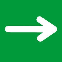 Senal icono ruta de evacuación - Sablón