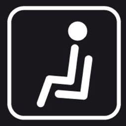Señal icono sala de espera - Sablón