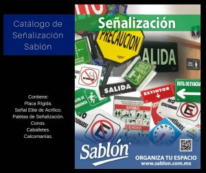 Catálogo de Señalizaciones Sablón