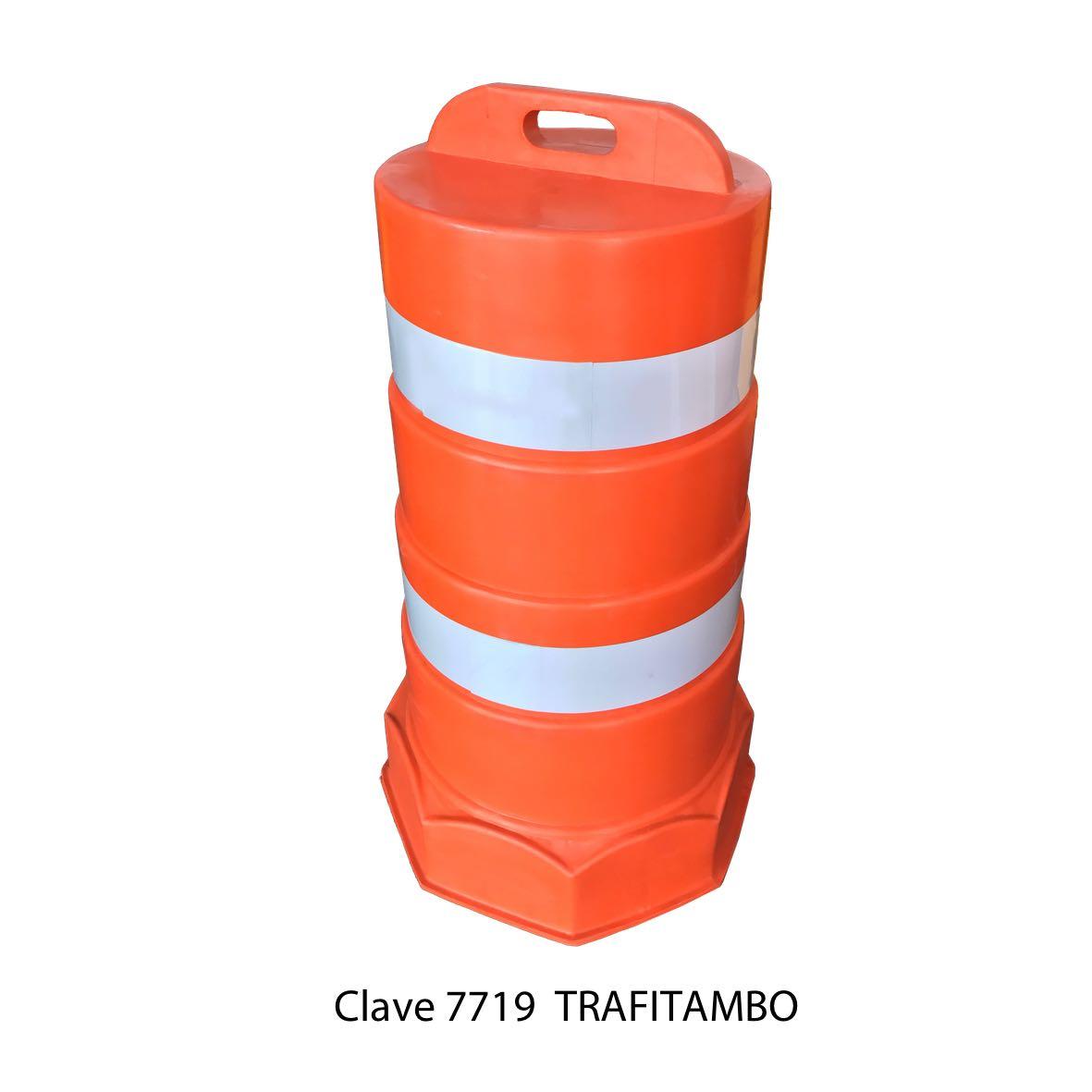 Trafitambo color naranja Clave 7719 Sablón
