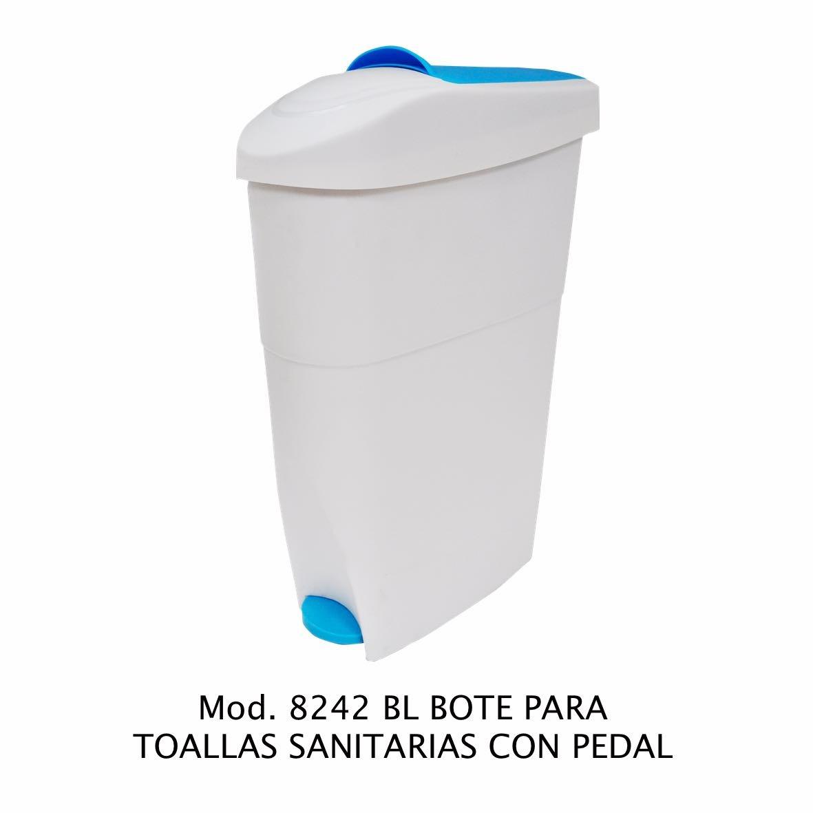 Bote de basura con pedal para toallas sanitarias - Sablón