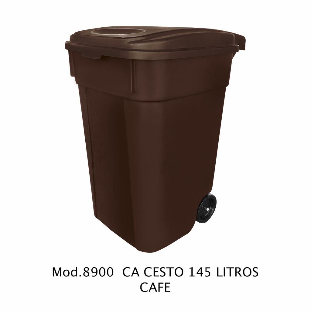 Contenedor de 145 litros cafe - modelo 8900 CA - Sablón