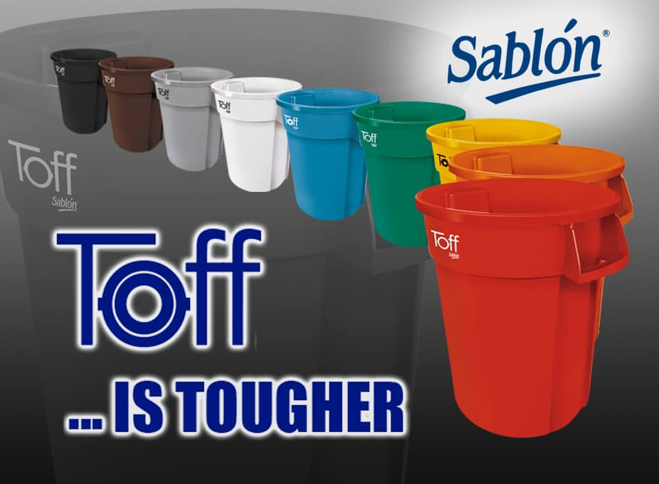 Lanzamiento TOFF el nuevo contenedor de basura de 120 litros de Sablon