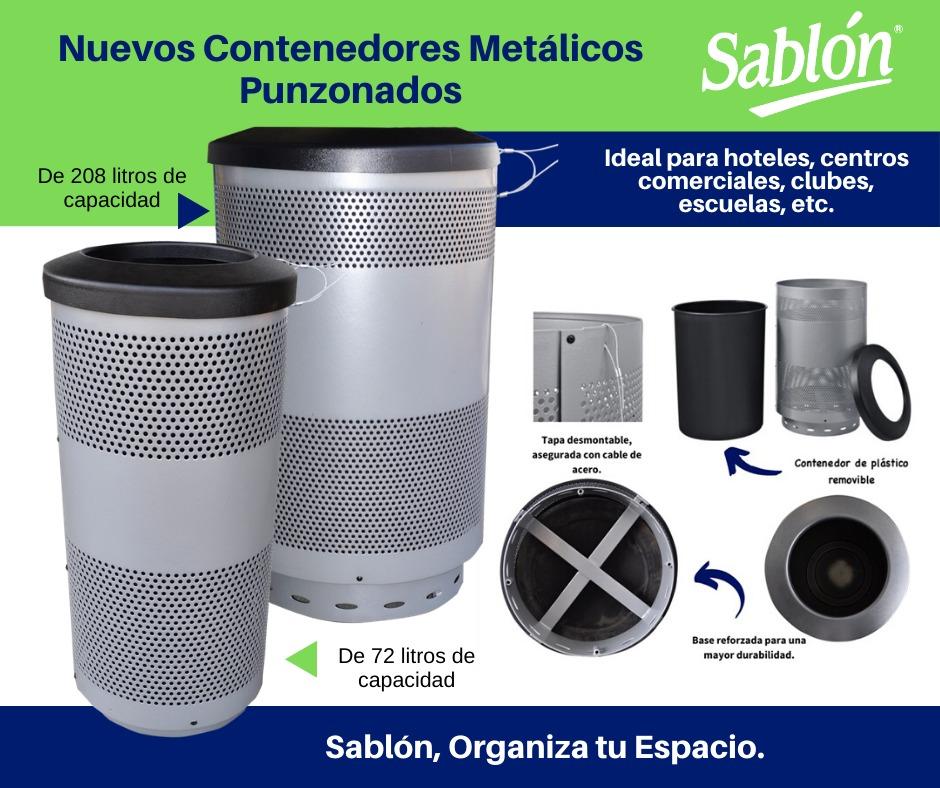 Los nuevos contenedores metalicos punzanos de Sablón