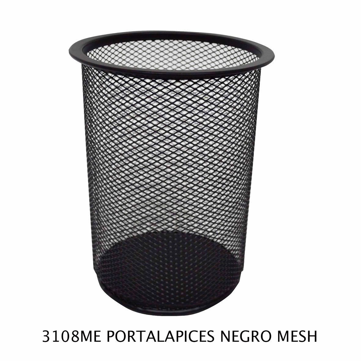Portalápices Negro Mesh modelo 3108ME de Sablón