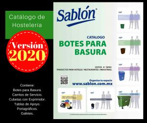 Descarga el catálogo de botes para basura 2020