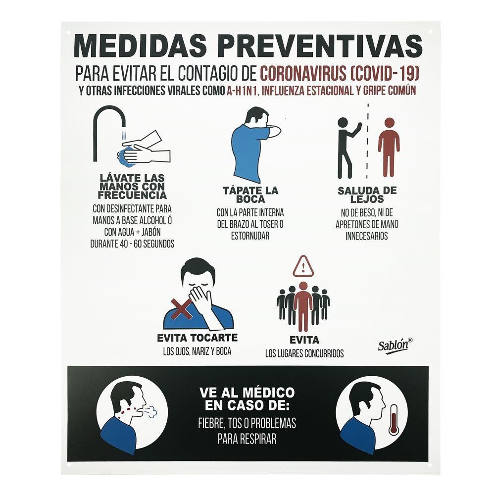 Poster Cómo prevenir el COVID-19