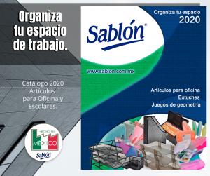 Catálogo oficina y artículos escolares Sablón