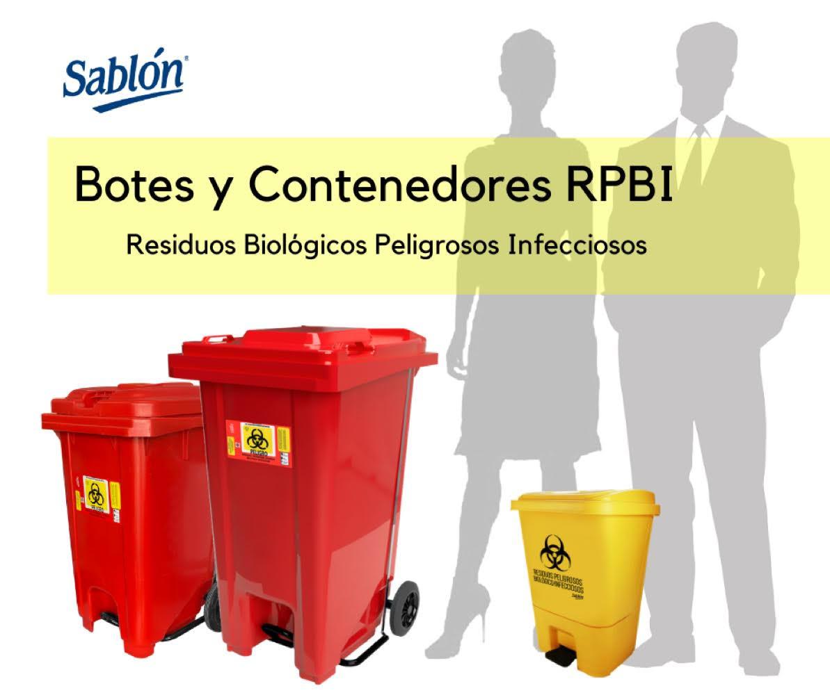 Botes y Contenedores RPBI Sablón
