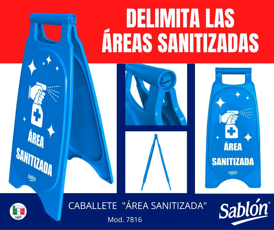 Nuevo caballete para área sanitizada de Sablón