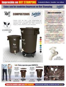 Toff Composteros 60L y 120L